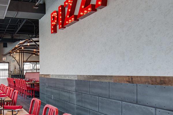 interior pizza sign